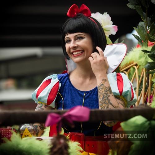 Blanche-Neige Valentine Jaquier @ Pride, Fribourg, Suisse, 22.06.2013
