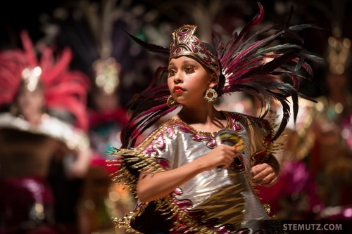 Cute Aztec Girl of Nahui-Ollin, Mexico ... RFI 2013 - Opening Show 13.08.2013