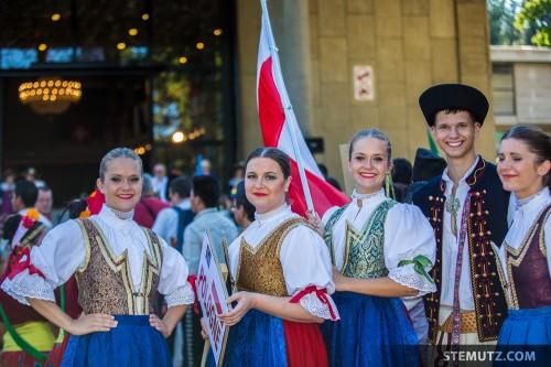 Poland ... RFI 2013: Cortège d'ouverture, Fribourg, 13.08.2013