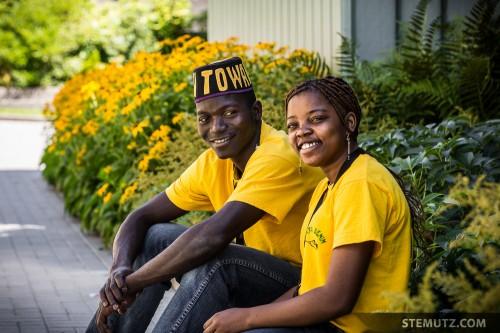 Smiling Faces of Towara, Bénin ... RFI 2013: Mensa, Fribourg, Suisse, 13.08.2013