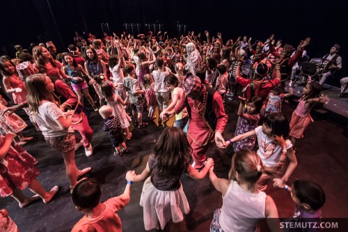 Party on Stage ... RFI 2013: Kids' Show, Equilibre, Fribourg, Suisse, 15.08.2013
