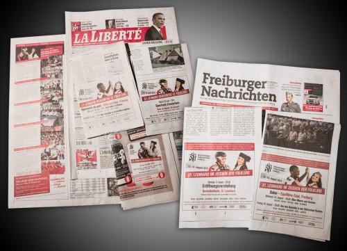 RFI 2013: Pictures and Advertising in La Liberté & Freiburger Nachrichten!