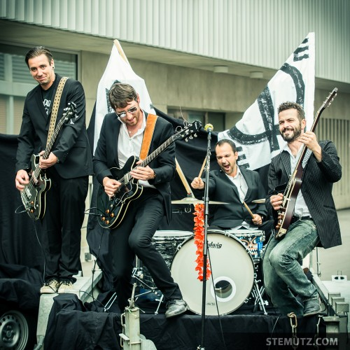 Band on a Trailer ... Making-Of TAR QUEEN Video Clip, Fribourg, 28.09.2013