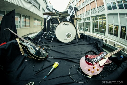 The Instruments ... Making-Of TAR QUEEN Video Clip, Fribourg, Switzerland, 28.09.2013