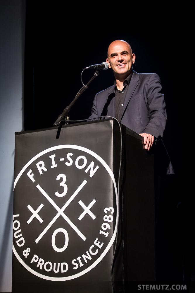 Le conseiller fédéral Alain Berset ... 30 Years of Fri-Son Party, Fribourg, 26.10.2013