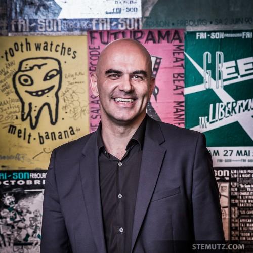 Bundesrat Alain Berset, Wall of Fame ... 30 Years of Fri-Son Party, 26.10.2013