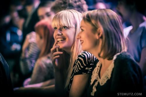 Happy Fans ... Babyshambles (UK) @ Fri-Son, Fribourg, Switzerland, 07.12.2013
