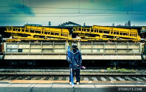 Robin Gillon Portrait Shoot @ Ancienne Gare, Fribourg, Switzerland, 20.11.2013
