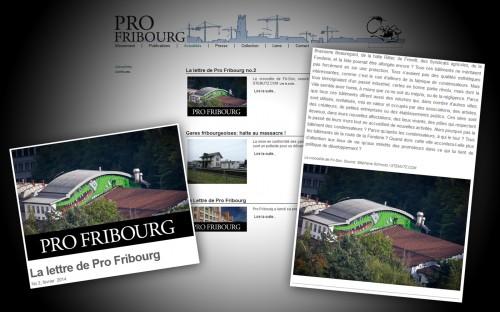 La lettre de Pro Fribourg 02-2014: Fri-Son est menacé ...