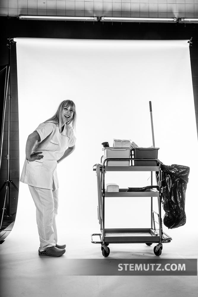 Making-Of ... Fun ...  apprentis SSH @ CHAMBRE NOIRE Studio, 16.01.2014