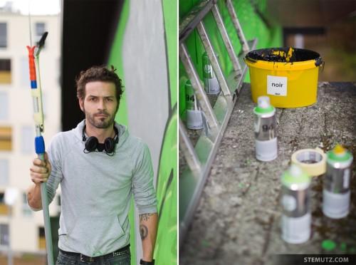 The Artist: Michel FR @ Rock'n'Wall Day 2, Fri-Son, Fribourg, 17.09.2011