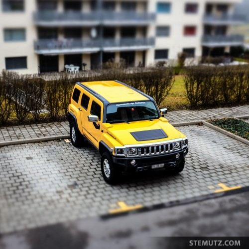 The Hummer is ready ... Hummerknacken Shoot @ CHAMBRE NOIRE Studio, 18.01.2014
