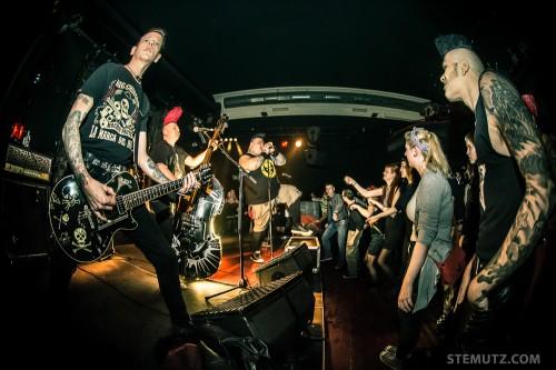Psychobilly ... The Frogs / MAD SIN (D) @ Ebullition, Bulle, Switzerland, 11.01.2014