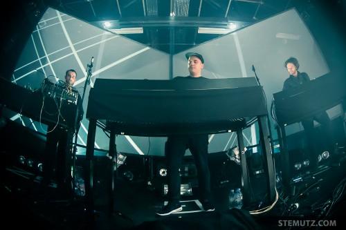 3 DJ's from Berlin ... Moderat (DE) @ Fri-Son, Fribourg, Switzerland, 19.02.2014
