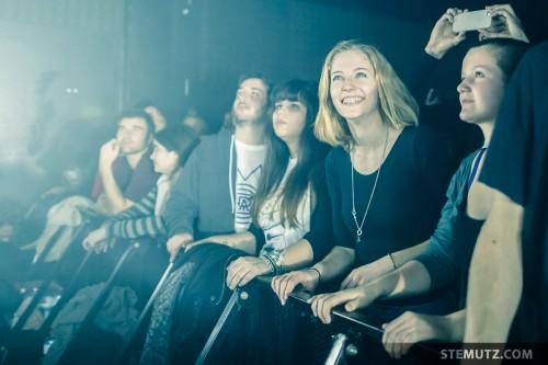 Happy Fans ... Moderat (DE) @ Fri-Son, Fribourg, Switzerland, 19.02.2014