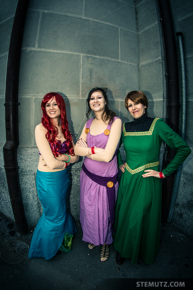 Nice Disney Girls ... Carnaval des Bolzes 2014, Fribourg, Suisse, 02.03.2014