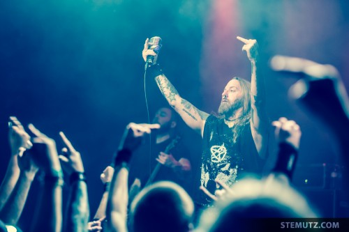 Give a Fuck ... Devildriver (US) @ Fri-Son, Fribourg, Switzerland, 28.03.2014