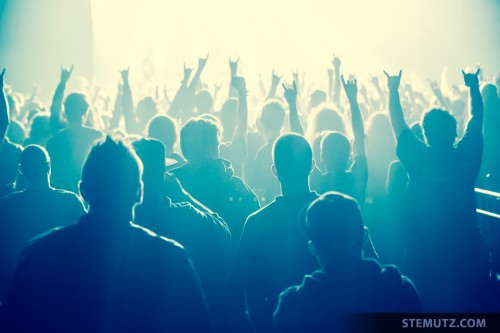 Metal Crowd ... Devildriver (US) @ Fri-Son, Fribourg, Switzerland, 28.03.2014