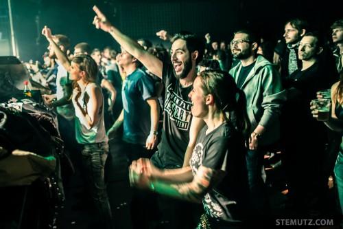 Crazy Fans ... Dirty Sound Magnet @ Fri-Son, Fribourg, Switzerland, 07.03.2014