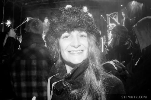 La Présidente Isabelle ... Le Goulag Festival 2014 @ Pisciculture, 22.02.2014