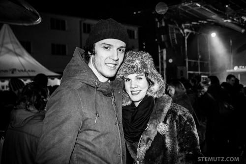 Julien et Fabienne ... Le Goulag Festival 2014 @ Pisciculture, Fribourg, 22.02.2014