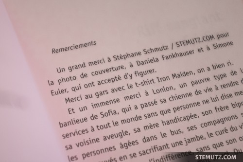 Remerciements / Thank You ... Vernissage Riff sanglant à Fri-Son, 08.04.2014