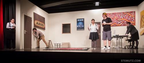 Une Semaine d'Arnaques @ Théâtre de Pérolles, Fribourg, 15.-29.03.2014
