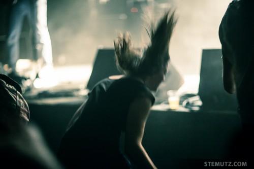 Bang it ... Solange la Frange @ Nouveau Monde, Fribourg, Suisse, 17.04.2014