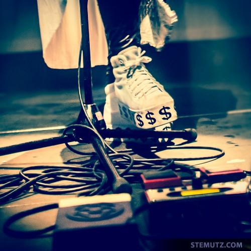 Dollar Shoes .. Solange la Frange @ Nouveau Monde, Fribourg, Suisse, 17.04.2014