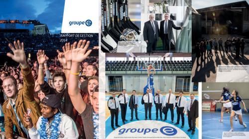 Rapport de Gestion / Jahresbericht 2014, Groupe E