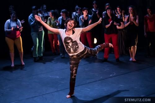 Sandra Sabino ... Dance Juke-Box @ Fête de la danse 2014, Fribourg
