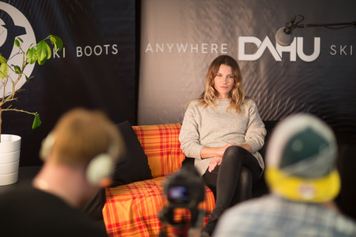 Interview ... Mirjam Jäger for DAHU Sports by STEMUTZ.COM, Shoot 21.10.2015