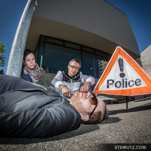 Crime Scene ... Photo Course 2014 with my Students @ Fribourg, 17.05.2014