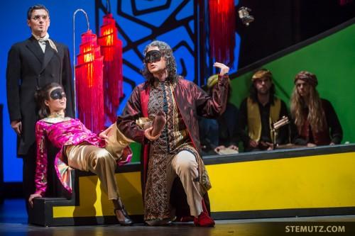La chaussure ... Opéra Louise - l'Amour Masqué @ Equilibre, Fribourg, 23.05.2014