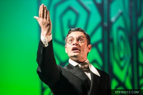 L'interprète ... Opéra Louise - l'Amour Masqué @ Equilibre, Fribourg, 23.05.2014