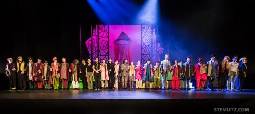 Les acteurs ... Opéra Louise - l'Amour Masqué @ Equilibre, Fribourg, 23.05.2014