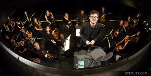 L'orchestre ... Opéra Louise - l'Amour Masqué @ Equilibre, Fribourg, 23.05.2014