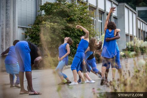 L'or bleu, 7ème Festival juilletdanse, Fribourg, 05.07.2014