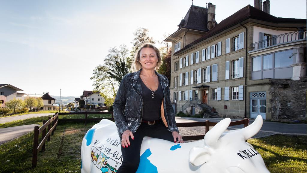 Martine Vorlet, Présidente du Conseil Général Villars-sur-Glâne, PLR