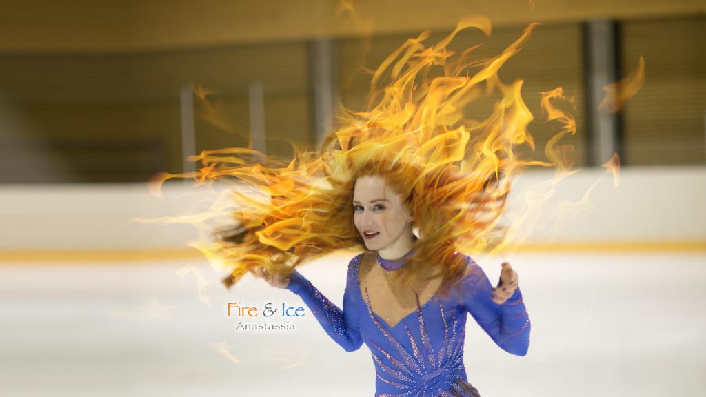 Fire & Ice - Anastassia Figure Skater Fribourg by STEMUTz.COM