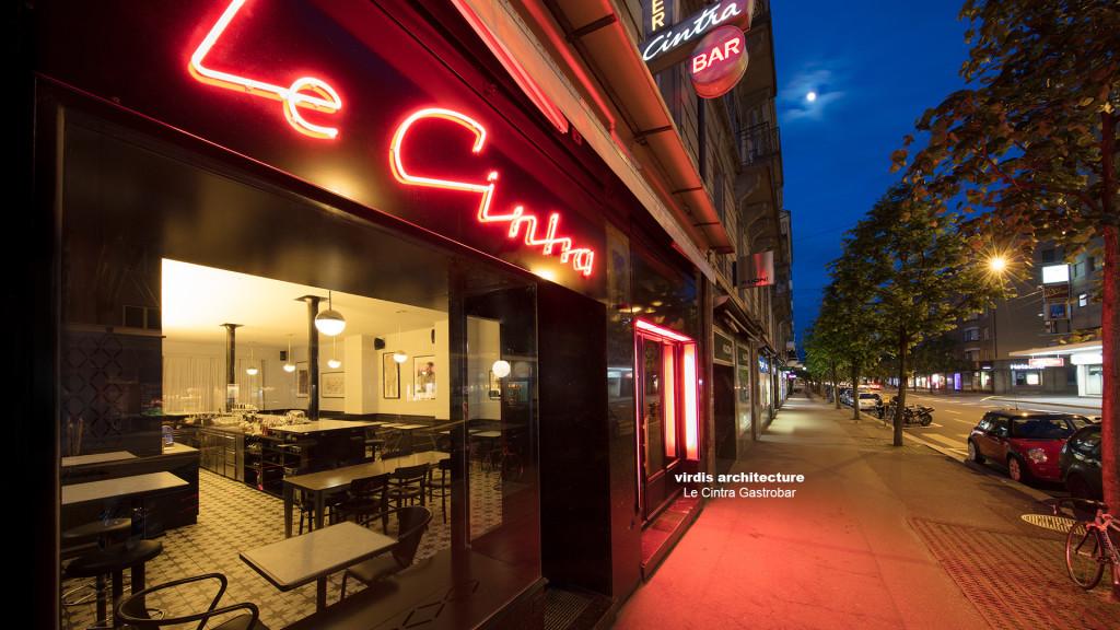 virdis architecture @ Le Cintra Gastrobar, Photos: STEMUTZ, photographe Fribourg