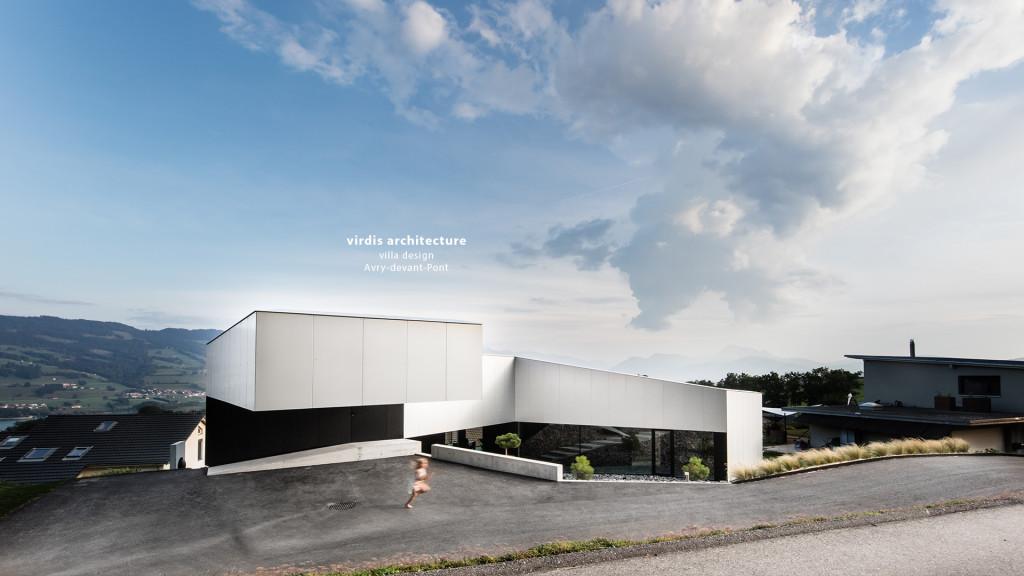 virdis architecture - villa design à Avry-devant-Pont par le photographe professionnel STEMUTZ PHOTO à Fribourg