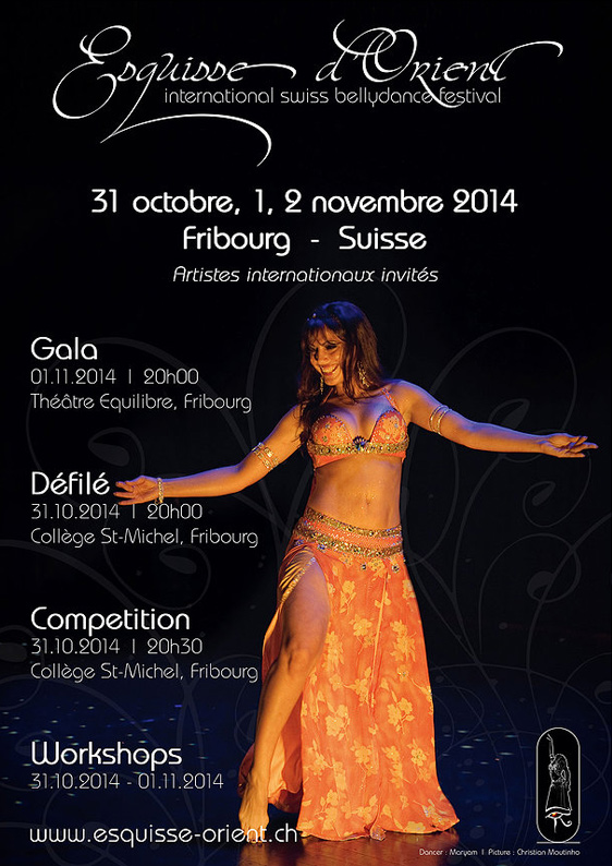 ESQUISSE D'ORIENT, International Swiss Bellydance Festival, Fribourg