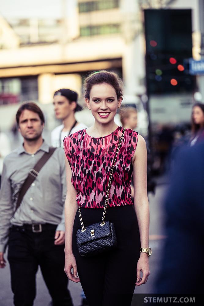 Laura Kipfer … Elite Model Look Contest, Finale @ Maag Halle