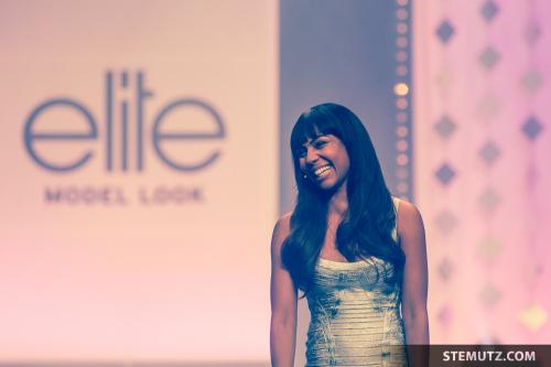 Moderatorin Alexandra Maurer ... Elite Model Look Contest, Finale