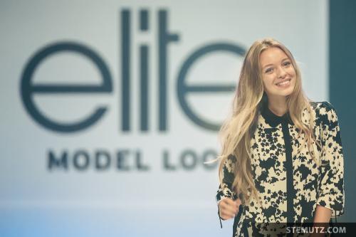 Luisa Laemmel … Elite Model Look Contest, Finale @ Maag Halle