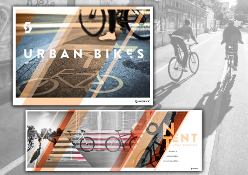 SCOTT City Lifestyle Images by STEMUTZ.COM published in the URBAN BIKES catalogue!