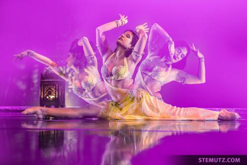 Soraya Martin ... Gala Show @ Esquisse d'Orient, Fribourg, Switzerland, 01.11.2014