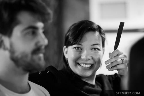 Happy Staff Member @ Nouveau Monde, Fribourg, 28.10.2014