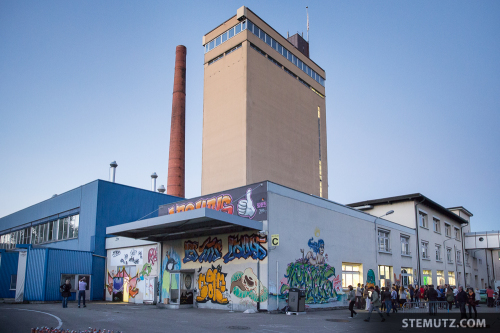 Vernissage: Take a Wall @ blueFactory, Fribourg, Switzerland, 18.10.2014